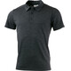 Lundhags M's Merino Light Polo Tee Grey Melange